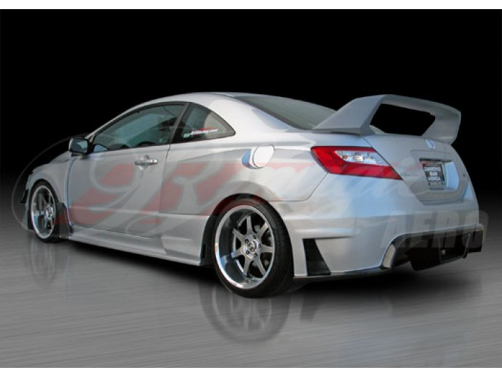 Jdm R Rear Spoiler Spoiler For Honda Civic 2006 2011 Coupe