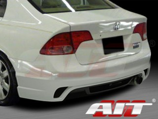 I-spec Style Rear Bumper Cover For Honda Civic 2006-2011 Sedan
