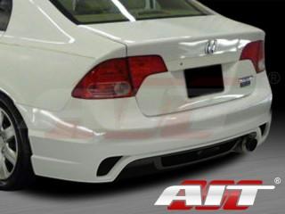 I-spec Style Rear Bumper Cover For Honda Civic 2006-2011 Sedan