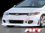 ZEN Style Front Bumper Cover For Honda Civic 2006-2008 Coupe