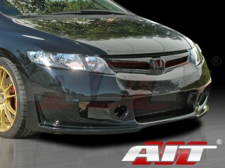 ZEN Style Front Bumper Cover For Honda Civic 2006-2008 Sedan