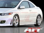 ZEN Style Side Skirts For Honda Civic 2006-2011 Coupe