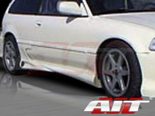Combat Style Side Skirts For Honda Civic 1988-1991 HB