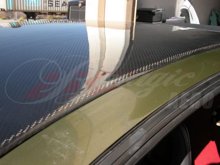 Carbon Fiber Roof Cover For 1992 95 Honda Civic Eg