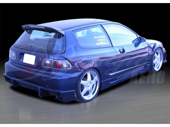Nx Series Wide Body Kit For Honda Civic 1992 1995 Hb