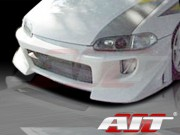 BZ Style Front Bumper Cover For Honda Civic 1992-1995 Sedan