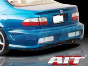 Combat Style Rear Bumper Cover For Honda Civic 1992-1995