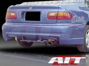 EVO3 Style Rear Bumper Cover For Honda Civic 1992-1995
