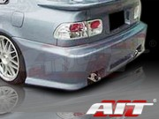 Revolution Style Rear Bumper Cover For Honda Civic 1992-1995 Coupe