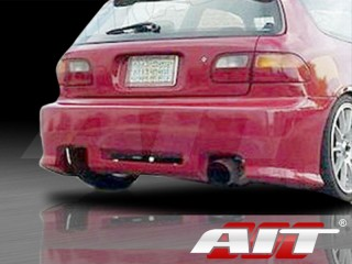 Revolution Style Rear Bumper Cover For Honda Civic 1992-1995 HB