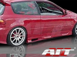 Revolution Style Side Skirts For Honda Civic 1992-1995 HB