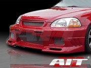 EVO3 Style Front Bumper Cover For Honda Civic 1996-1998