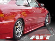 EVO3 Style Side Skirts For Honda Civic 1996-2000