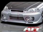 EVO5 Style Front Bumper Cover For Honda Civic 1996-1998