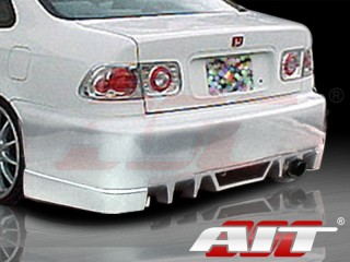 EVO5 Style Rear Bumper Cover For Honda Civic 1996-2000