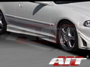 M3 Style Side Skirts For Honda Civic 1996-2000