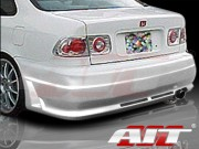 R34 Style Rear Bumper Cover For Honda Civic 1996-2000
