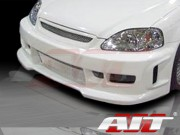 Revolution Style Front Bumper Cover For Honda Civic 1996-1998
