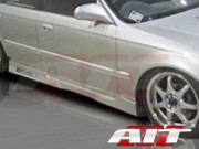Revolution Style Side Skirts For Honda Civic 1996-2000 Sedan