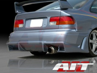 Vascious Style Rear Bumper Cover For Honda Civic 1996-2000