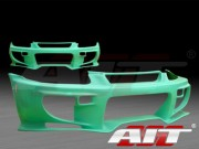 VS2 Style Front Bumper Cover For Honda Civic 1996-1998