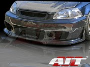 ZEN Style Front Bumper Cover For Honda Civic 1996-1998