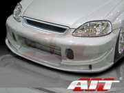 BC Style Front Bumper Cover For Honda Civic 1999-2000
