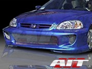 Combat Style Front Bumper Cover For Honda Civic 1999-2000