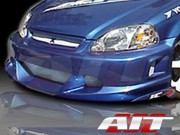 EVO2 Style Front Bumper Cover For Honda Civic 1999-2000