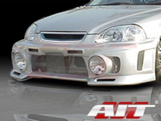 EVO3-L Style Front Bumper Cover For Honda Civic 1999-2000