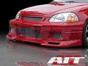 EVO3 Style Front Bumper Cover For Honda Civic 1999-2000