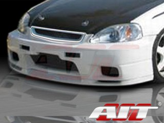 R33 Style Front Bumper Cover For Honda Civic 1999-2000