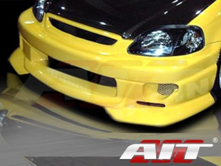 SF2 Style Front Bumper Cover For Honda Civic 1999-2000