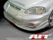 VS2 Style Front Bumper Cover For Honda Civic 1999-2000