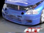 R33 Style Front Bumper Cover For Honda Del Sol 1993-1997