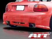 Revolution Style Rear Bumper Cover For Honda Del Sol 1993-1997