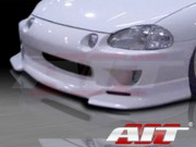 SF Style Front Bumper  For Honda Del Sol 1993-1997