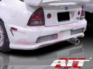Combat Style Rear Bumper Cover For Honda Prelude 1992-1996