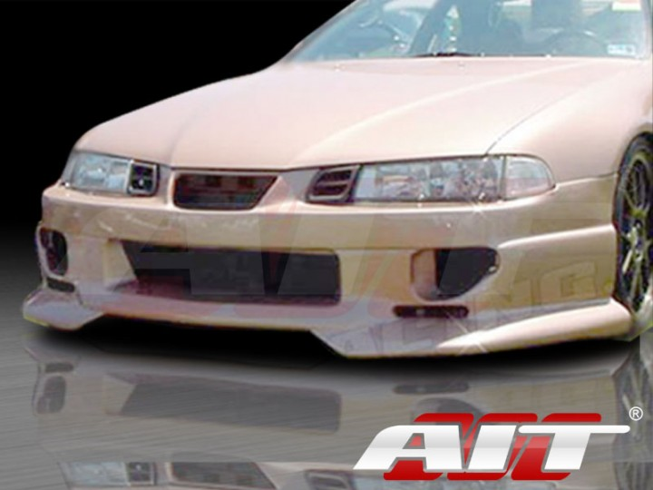 SF2 Style Front Bumper Cover For Honda Prelude 1992 1996
