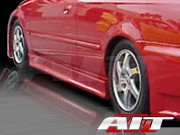 EVO3 Style Side Skirts For Honda Prelude 1997-2004
