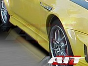 EVO4 Style Side Skirts For Honda Prelude 1997-2004