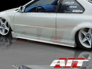 MGN Style Side Skirts For Honda Prelude 1997-2004