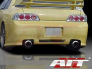 Revolution Style Rear Bumper Cover For Honda Prelude 1997-2004
