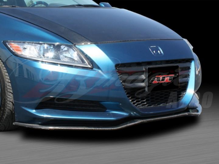RS Style Carbon Fiber Front Lip For Honda CR-Z 2011-2013