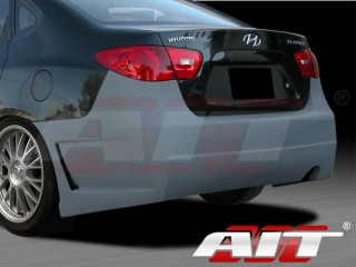 Zen Style Rear Bumper Cover For Hyundai Elantra 2007-2010