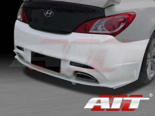 FX Style Rear Bumper Cover For Hyundai Genesis Coupe 2010-2012