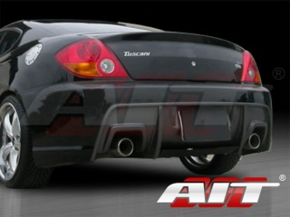 GT-Spec Style Rear Bumper Cover For Hyundai Tiburon 2003-2006
