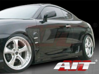 GTS Style Side Skirts For Hyundai Tiburon 2007-2008
