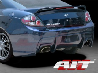 GT-Spec Style Rear Bumper Cover For 2007-2008 Hyundai Tiburon