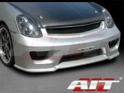 Wondrous Series Front Bumper Cover For 2002-2004 Infiniti G35 Sedan